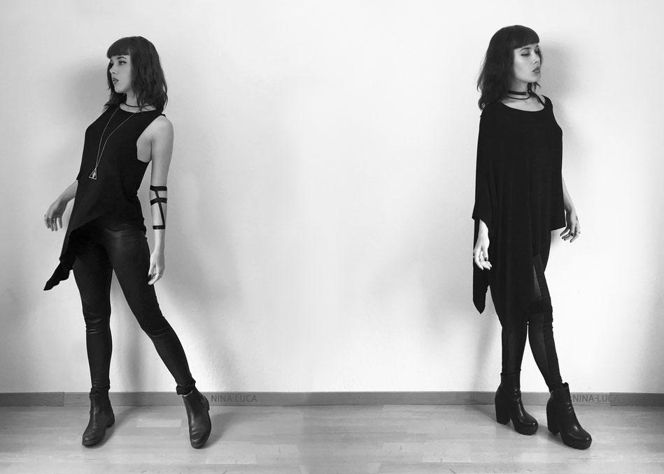 image: nina luca, madness is clothing, dark fashion, dark style, dark wear, dark clothing, swiss blogger, swiss fashion blogger, black fashion, dark fashion blog, dark style blog, dark wear blog, minimalistic fashion, minimalism fashion