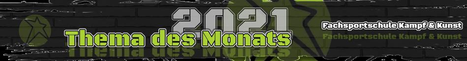 Banner zur Seite Thema des Monats im Kampfsport Blog in Friesoythe