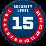 ABUS Schlosskette Granit CityChain XPLUS 1060 Security Level 15 für e-Bikes und Pedelecs