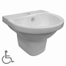 Living Assist Special Needs Wall Basin With Shroud