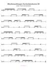Rhythmusübungen Sechzehntelnoten