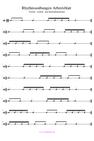 Rhythmusübungen Musik machen PDF