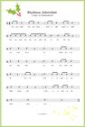Rhythmus Lied Lichter zur Weihnachtszeit