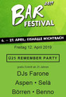 Eishalle Wichtrach, Ü 25 Remember Party, 12. April 2019, DJ Farone, Aspen, Börren, Selä, Benno, Party, Veranstaltung, Ausgang
