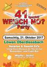 Oberdiessbach, 21. Oktober 2017, Disco, Oldie, Party, Schlager, '80, '90, Löwen, DJ Aspen, Röfe, René, Lädi, Fest
