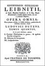 Couverture de : Gottfried Wilhelm LEIBNIZ (1646-1716) : Lettre sur la philosophie chinoise à M. de Rémond. Genève, chez Fratres de Tournes, 1748.
