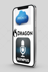 dicteer-apps op mobiel