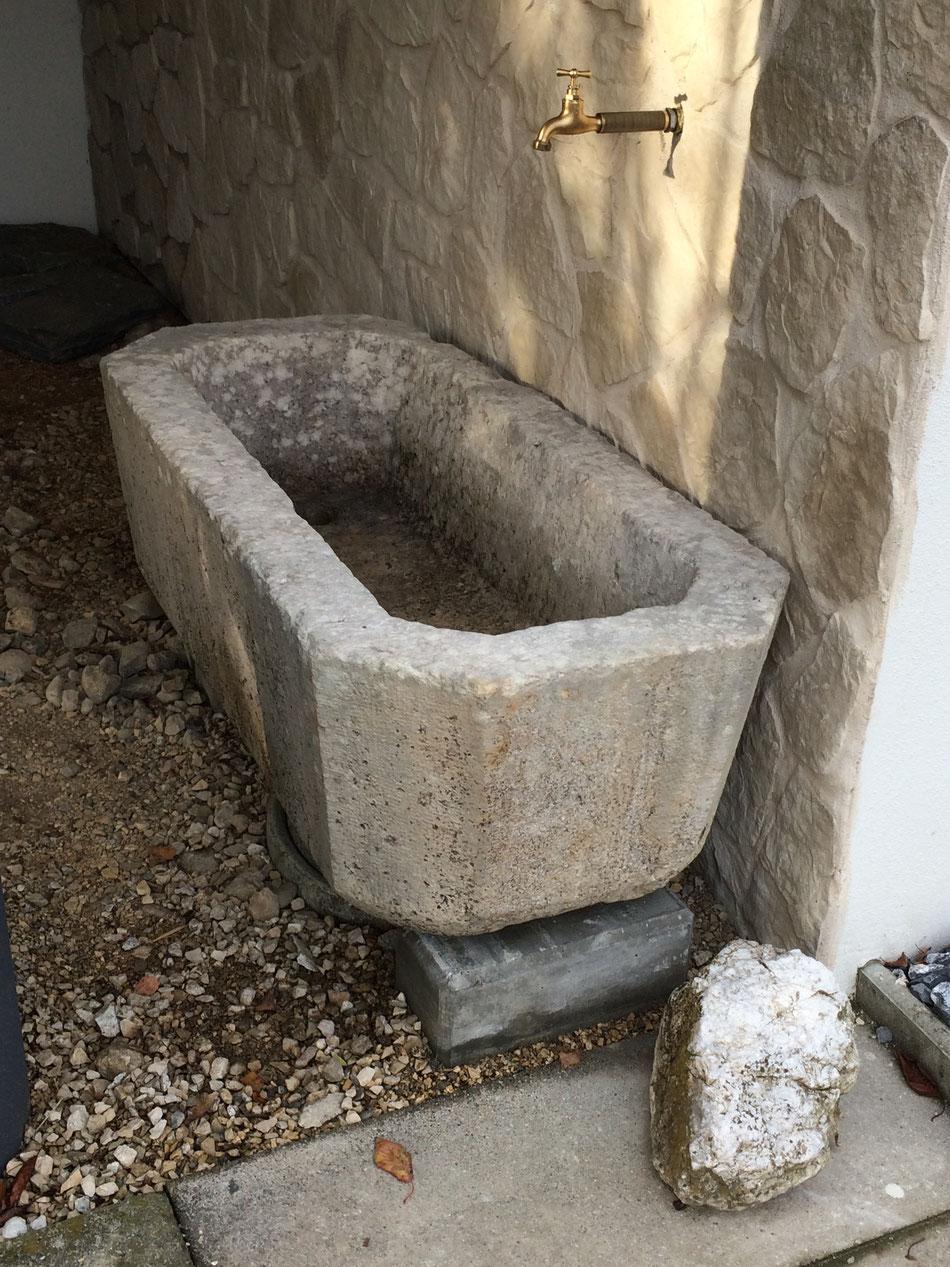 Brunnen versetzen (Täuffelen)