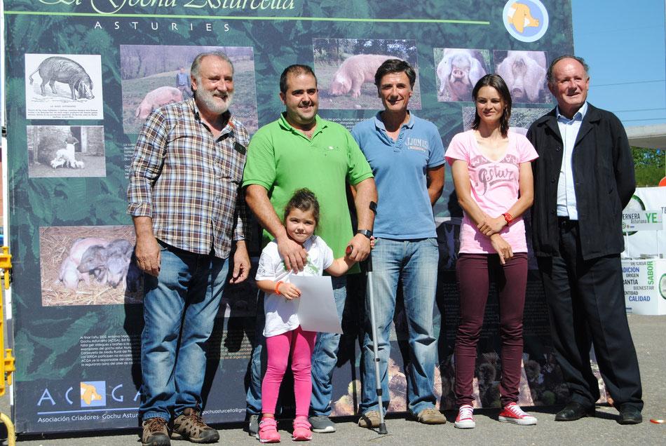 Mejor Berrón para la ganadería de Iván Blanco González