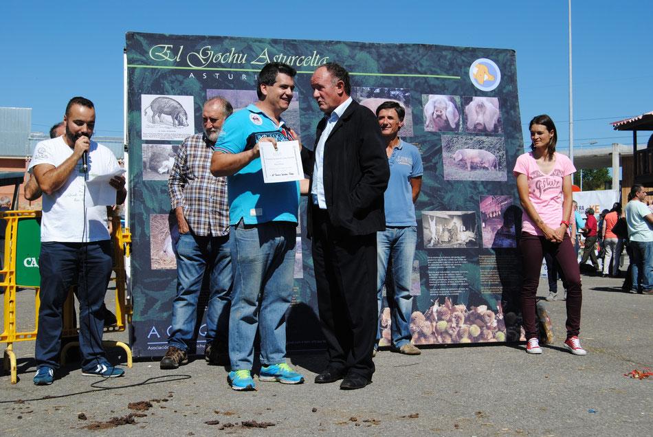 Mejor Rebañu - Grea para la ganadería de Mª Rosario Sánchez Valdés