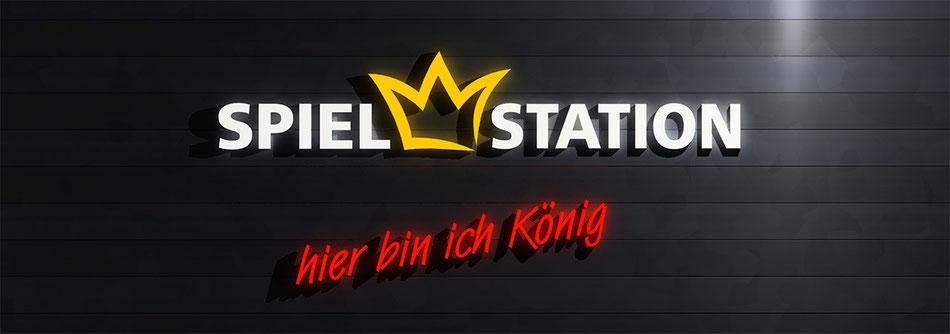 Neues Logo der Spielstation