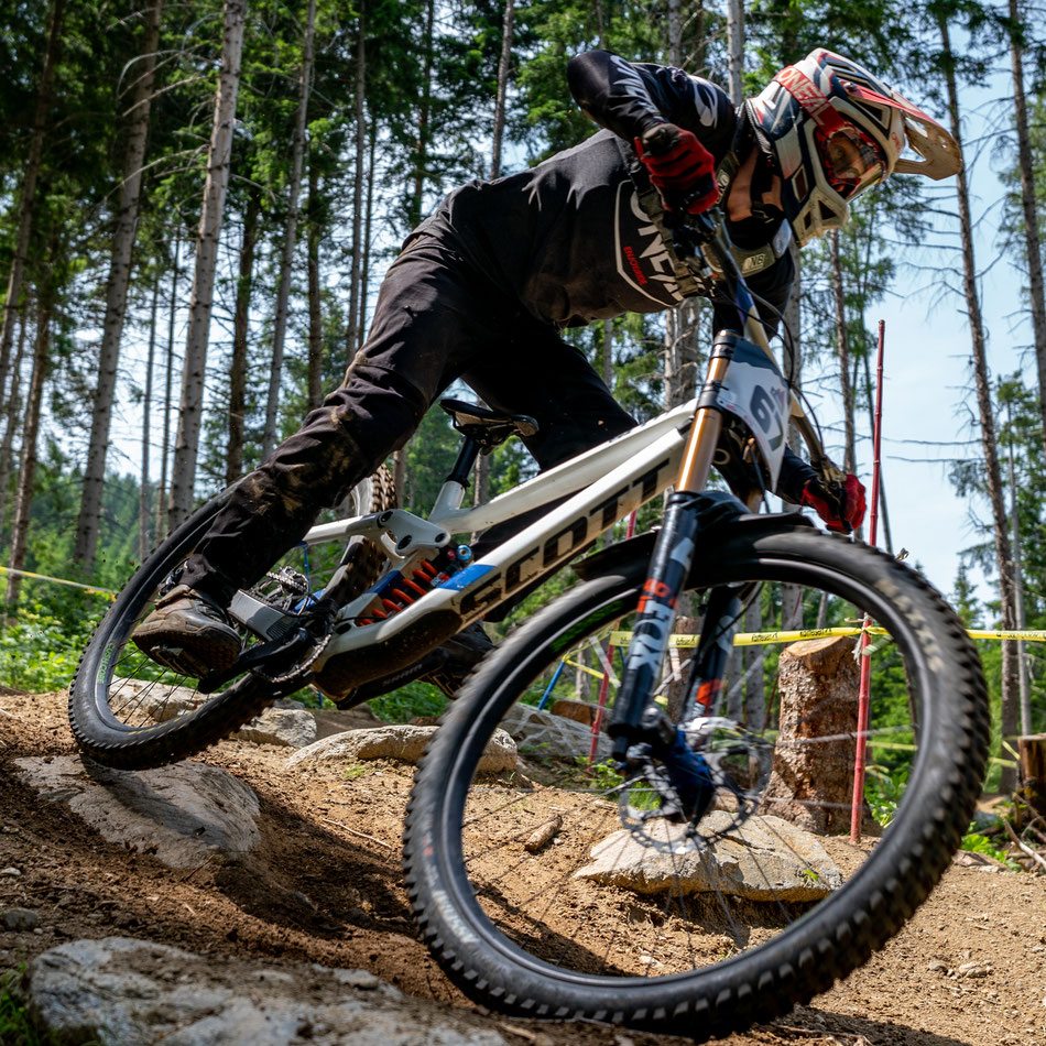 Felix finished 40th place in the toughest riders field ever at Crankworx Innsbruck! Copyright: @kammerlanderphoto