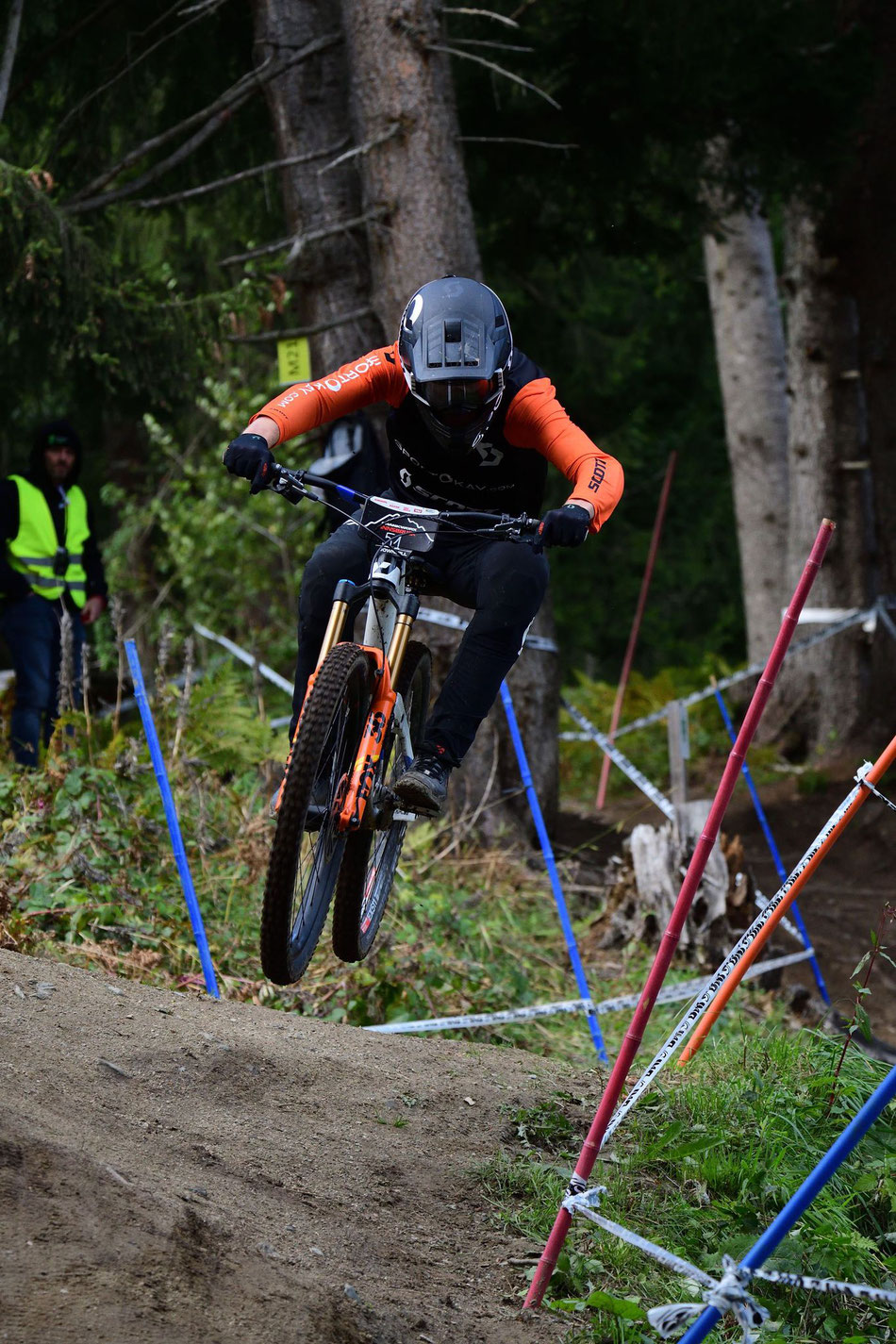 Dario finished 64th place racing on his Scott Ransom 900 Tuned Enduro bike