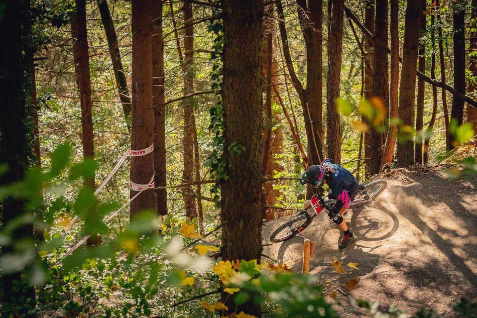 Nico going wild! Photo: MTB Innsbruck