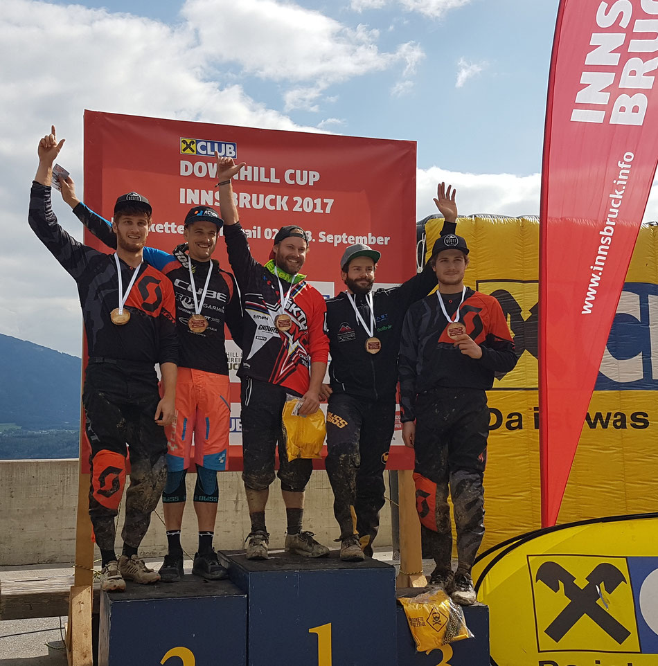 Nordkette race 2017! Out best race EVER - 3 riders - 3 podiums!