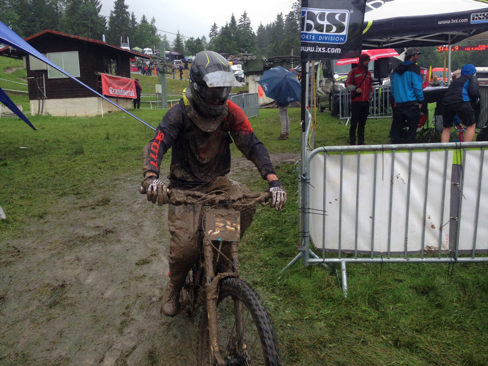 Many races in the mud this year!