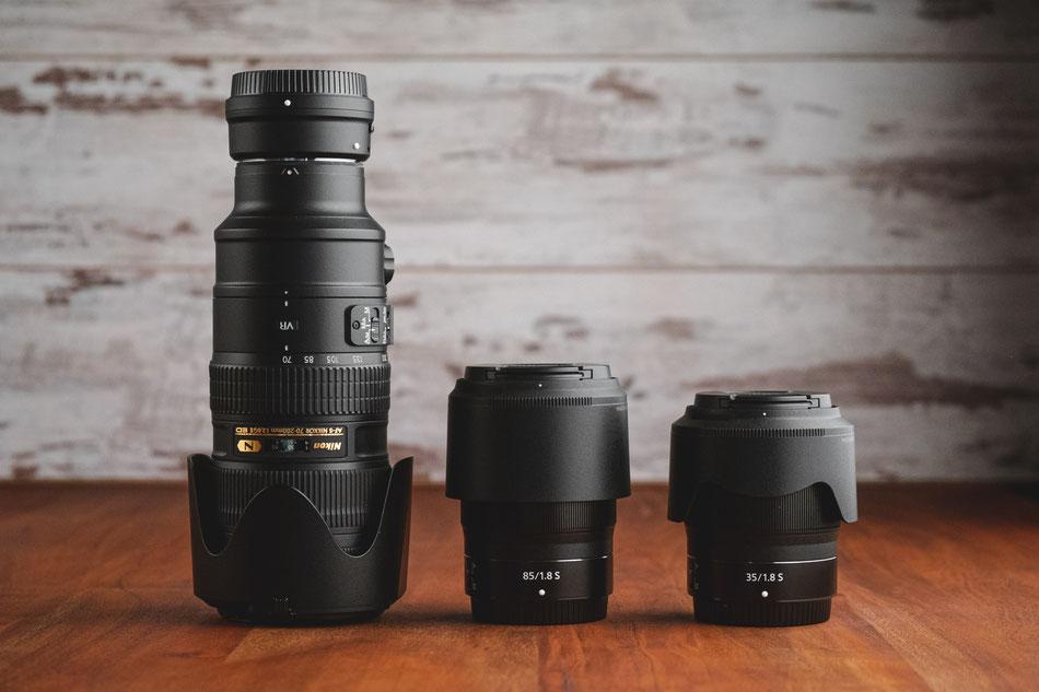 Nikon-Objektive am Z-System