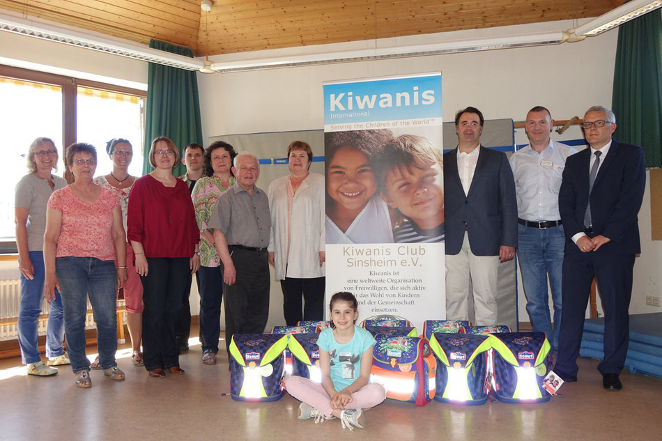 c1f0fb4000165 Schulranzen-Projekt 2019 - Schulranzen sorgen für strahlende Kinderaugen