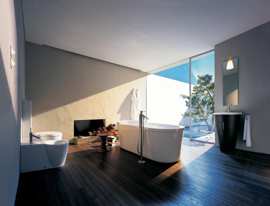 Das Badezimmer als Ort der Entspannung und des Wohlfühlens
