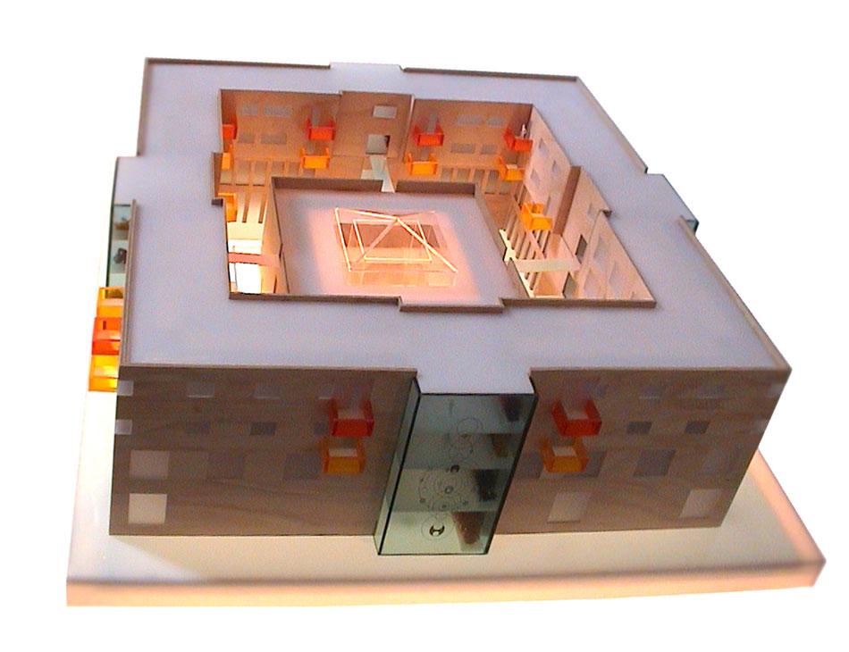 Planungsbüro Querdenker Hamburg. Architektur-Projekt Mischnutzung Wohnen und Gewerbe