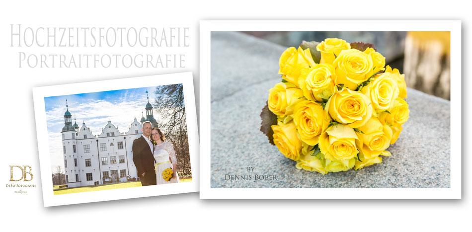 Hochzeitsfotograf Schloss Ahrensburg, Standesamtliche Trauung Ahrensburg, freie Trauung Schloss Ahrensburg, Hochzeitsfotos und Hochzeitsbilder von Eurer Märchenhochzeit von Dennis Bober DeBo-Fotografie, Fotograf Lübeck.