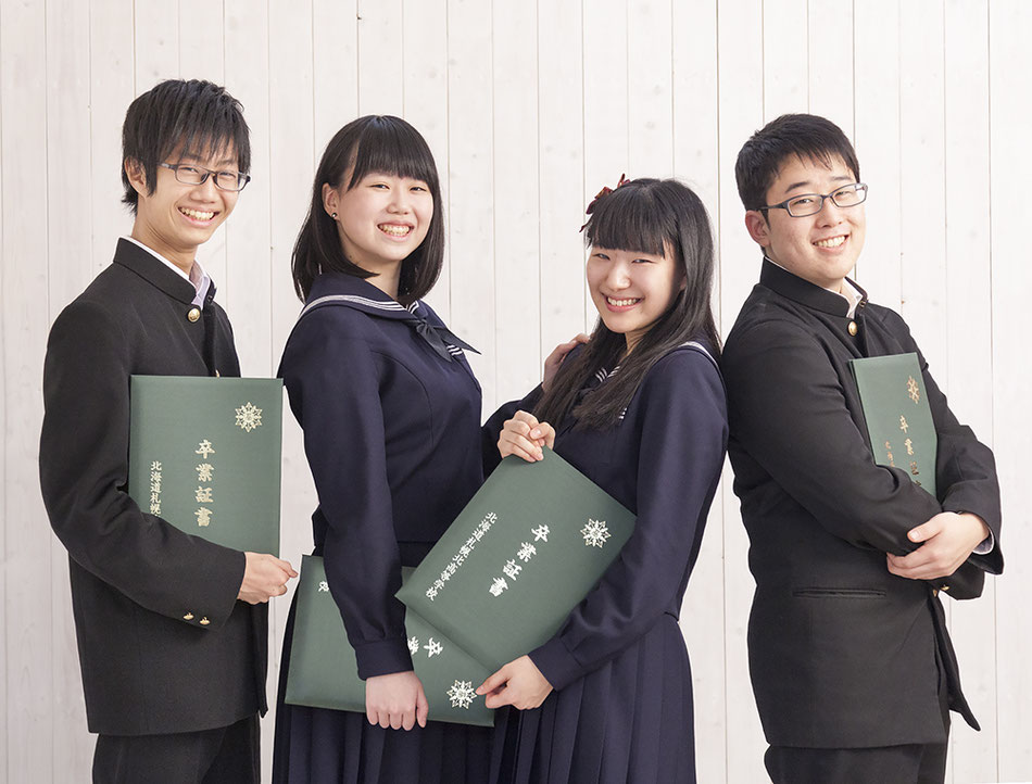 スタジオ夢物語札幌で素敵な思い出を写真に!卒業写真受付中!!