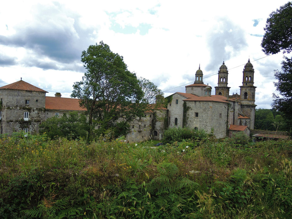Kloster Sobrado dos Monxes dient heute als stilvolle Albergue mit über 100 Betten.