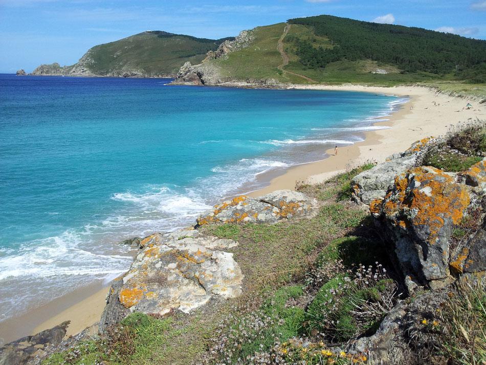Strand von Finisterre.