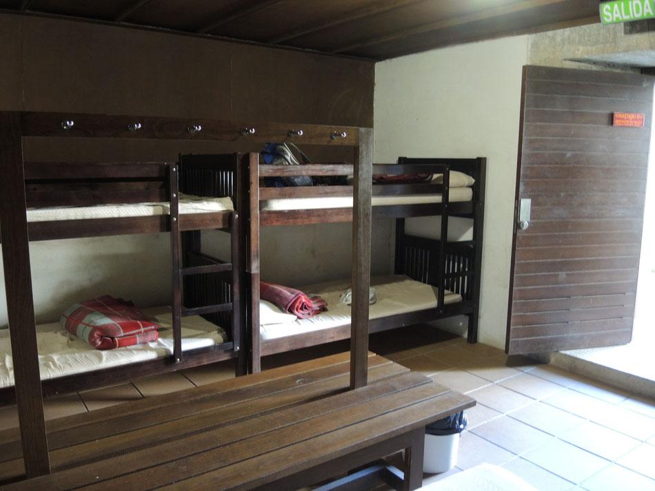 Klosterliche Unterkunfte sind schön und bequem.