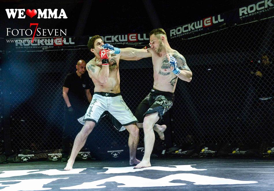 Sportfotografie - We Love MMA Stuttgart - Marcel Quietzsch (MMA Team Dresden) vs. David Moscatelli (Fight Team Geneva)