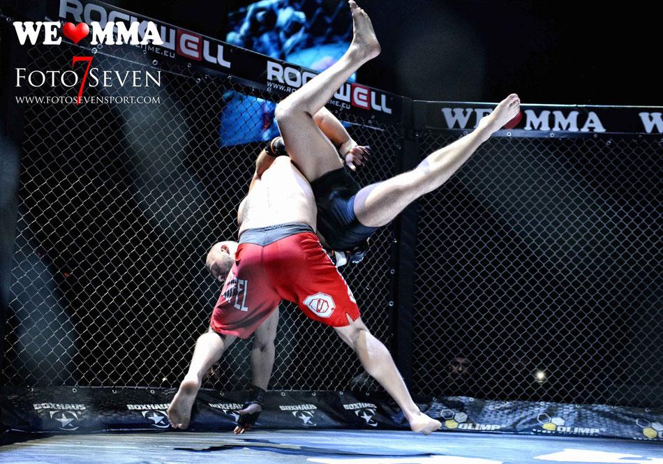 Krystian Milewcyk (Trave Teufel) vs. Lenc Thunderstrike (Hammer Gym HH)