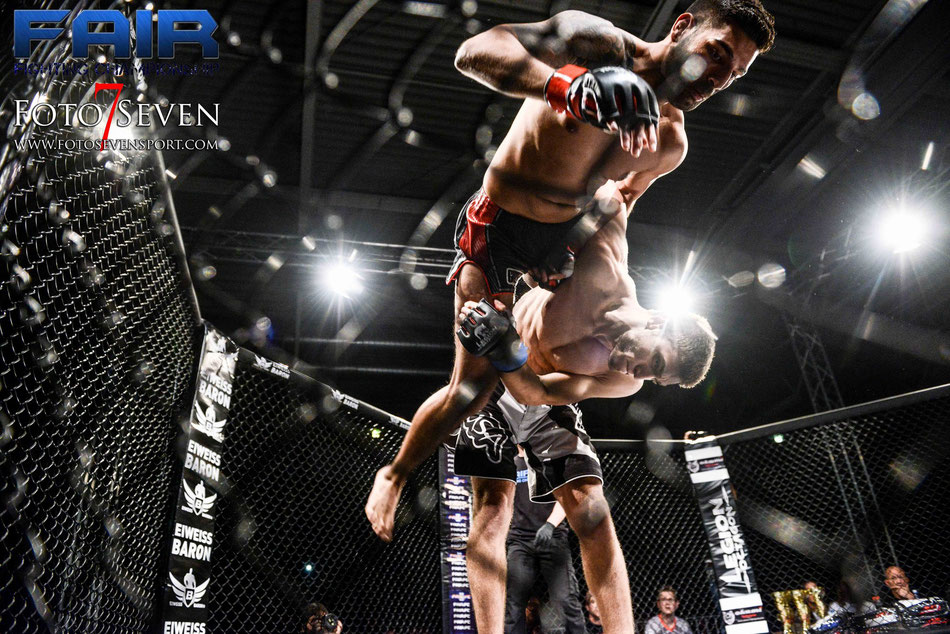 Singh Grupeeth (Lanna Stahl) vs. Fred Mantikor Prinz (Anima MMA)