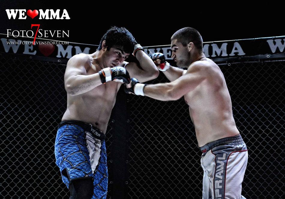 Tom Fürst (MMA Dresden) vs. Lomali Hutaev (Team Ismail)