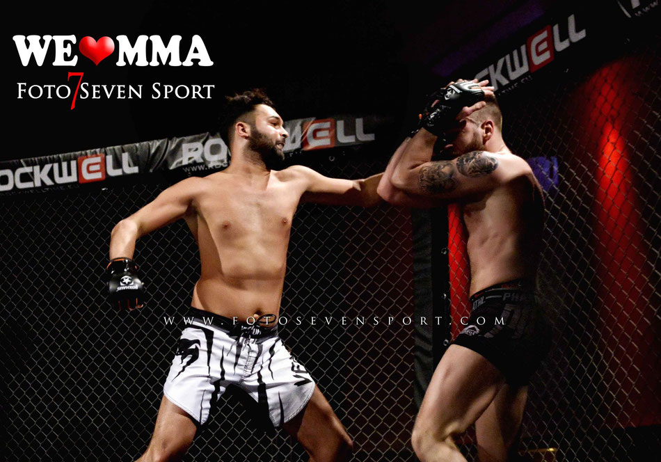 Marcus Hadner (Gorilla MMA Berlin) vs Onur Dalgic (Team Fenriz) We Love MMA