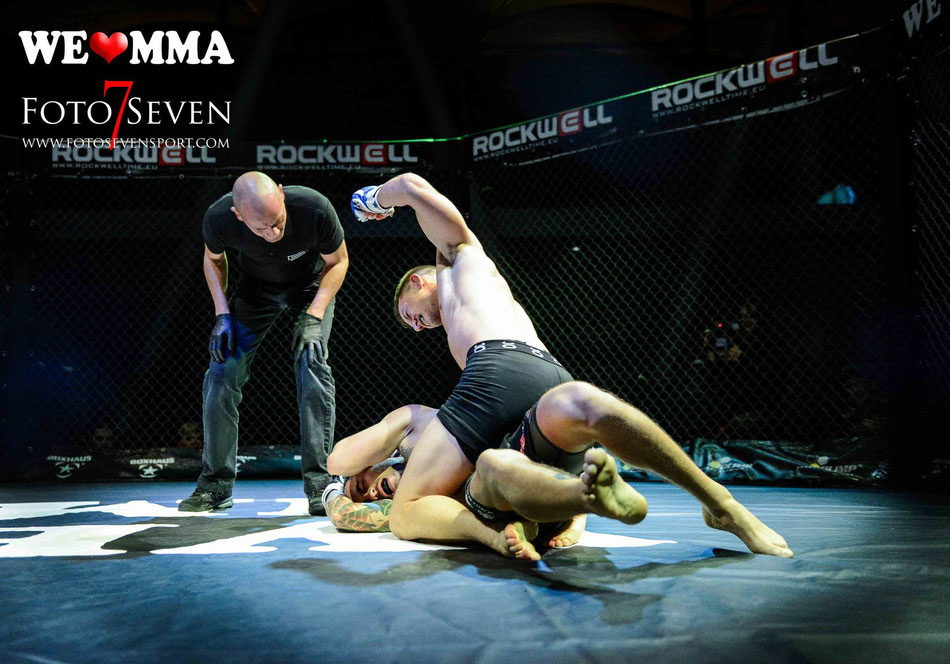 Sportfotografie - We Love MMA Stuttgart - Kenji Bortoluzzi (BuddyGym, Schweiz) vs. Till Stritter (Kampfsportschule Allerborn)