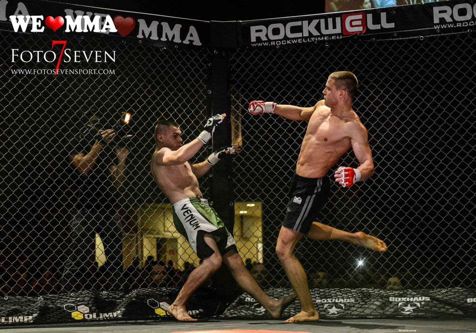 Sportfotografie - We Love MMA Stuttgart- Viktor Wahl (Frankers Fight Team) vs. Willi Krimmel (Fighting Skillz Crailsheim)