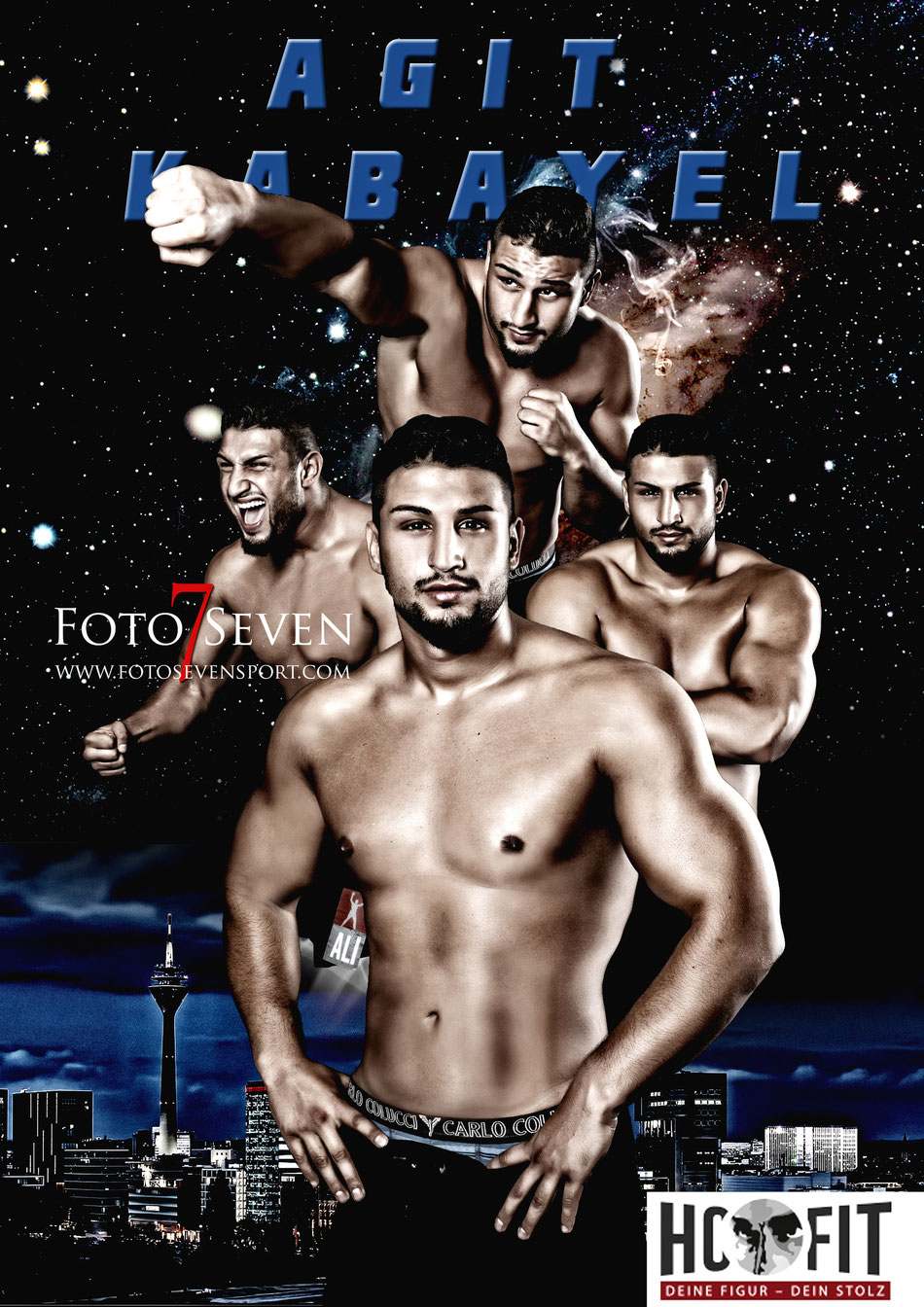 Fotoshooting mit PT1 - My Personal Trainer | Agit Kabayel