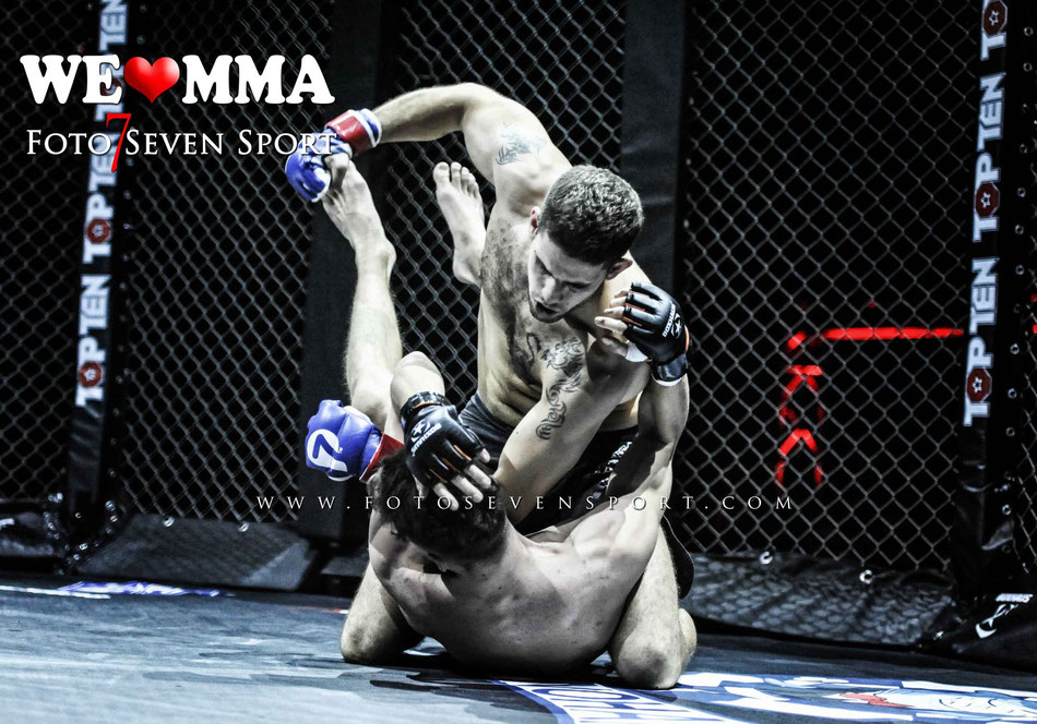 Niels Fischer (Fight Center Siegen) vs David Mascatelli (MMA Geneve, Genf CH)