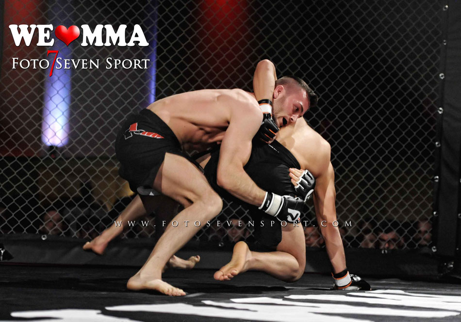 Ataev Abdurashid (Sok Chai Gym Berlin) vs Marc Thiele (Kampfsportschule Allerborn) We Love MMA