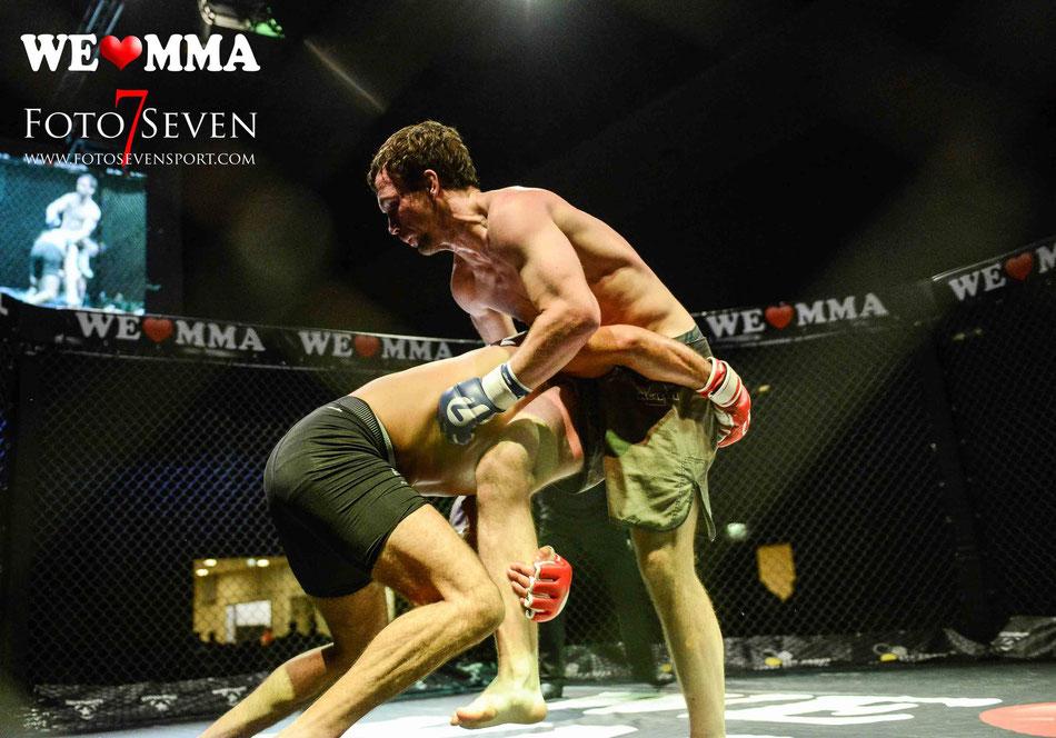 Sportfotografie - We Love MMA Stuttgart - Sascha Sharma (Kong´s Gym Stuttgart vs Jonny Kruschinske (Kampfsportzentrum Dresden)