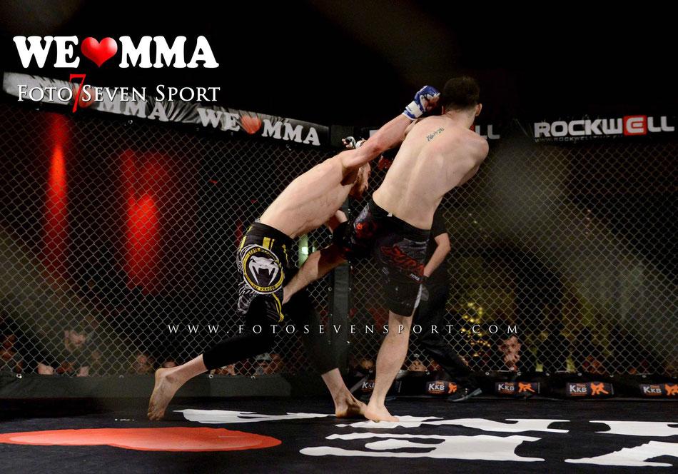 Shamil Aliev (Hilti BJJ IMAG Berlin) vs Mihai Sochirka (Pyranha MMA) We Love MMA