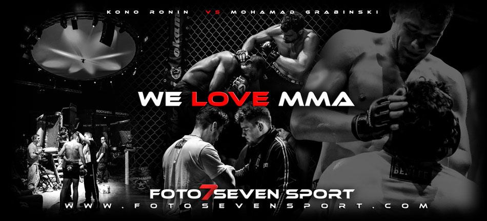 Foto Seven Sport - Gary Kono Ronin MMA Leverkusen vs Mohamad Grabinski Pride Gym Düsseldorf