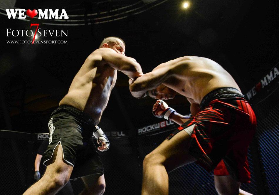 Sportfotografie - We Love MMA Stuttgart - Martin Merkt (Combat Club Cologne) vs. Sanjack Gil (Pride Gym)