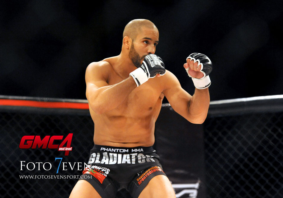 GMC4 Next Level   German MMA Championship   Fighter Abu Azaitar   Photo by Alexandra Serttas