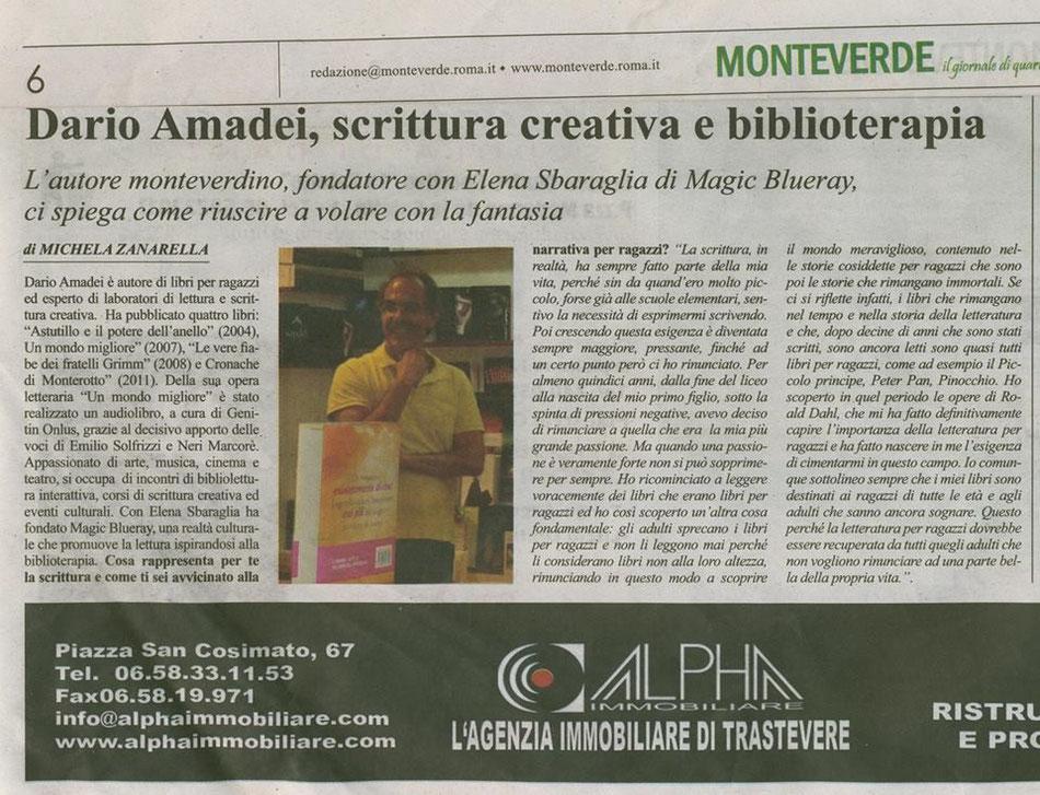 Michela Zanarella intervista Dario Amadei