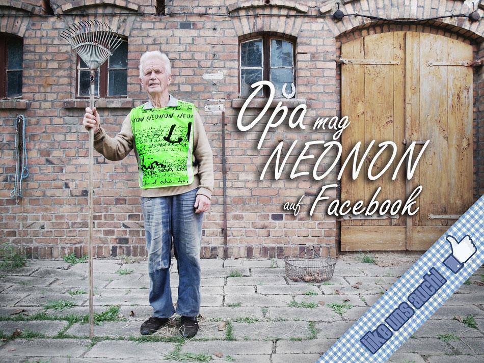 Neonon auf facebook, klick doch mal vorbei und gib uns dein Like