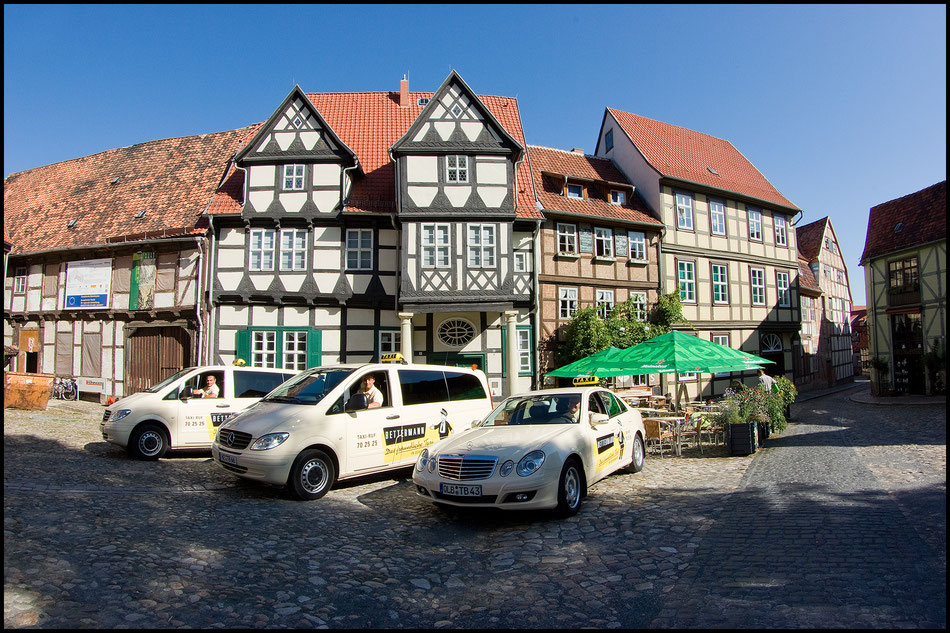Welterbestadt Quedlinburg · TAXI BETTERMANN – Mercedes-Taxis