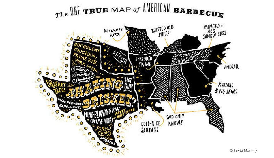Texas BBQ American Food