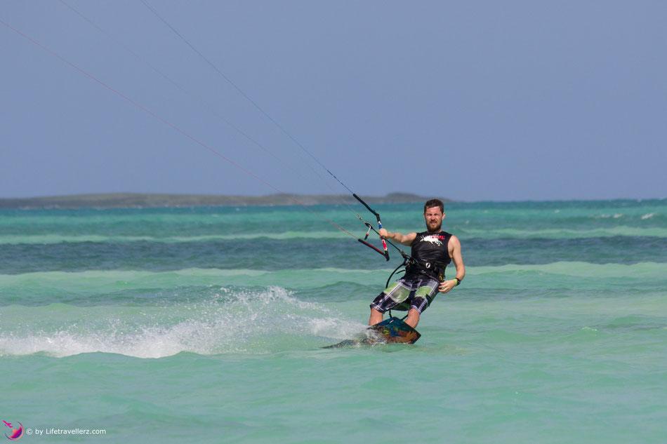Kitesurfen in Cayo Guillermo