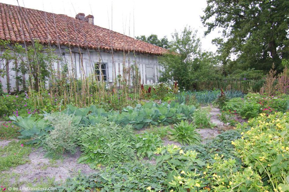 Garten im Écomusée